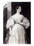 Portrait of Augusta Ada Byron, Countess of Lovelace, Giclee Print