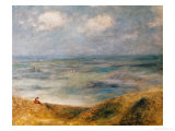 View of the Sea, Guernsey Giclee Print by Pierre-Auguste Renoir