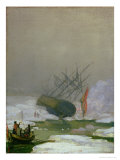 Ship in the Polar Sea, 12th December 1798 Giclee Print by Caspar David Friedrich