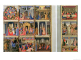 Scenes from the Life of Christ Giclee Print by  Fra Angelico