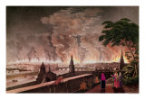 Fire in Moscow, September 1812 Giclee Print by Notoff 