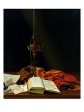 Still Life with a Bible, 1821 Giclee Print by Karl Von Bergen