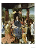 Madonna and Child with Mary Magdalene and St. Catherine Giclee Print by Jan Gossaert
