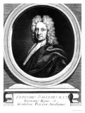 Portrait of Edmond Halley Giclee Print by Richard Philips