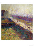The Morning, 1909 Giclee Print by Umberto Boccioni