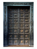 North Doors of the Baptistery of San Giovanni, 1403-24 Giclee Print by Lorenzo Ghiberti