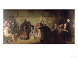 Before the Magistrates Giclee Print by George Elgar Hicks