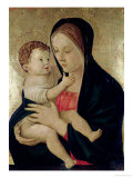 Madonna and Child, circa 1475 Giclee Print by Giovanni Bellini