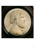 Relief Medallion of Frederic Ozanam Giclee Print by A. Corio