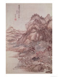 Autumn Mountains Giclee Print by Wang-huei