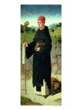 St. Bernard, Left Hand Panel from the Triptych of St. Erasmus, circa 1460 Giclee Print by Dieric Bouts