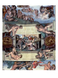 Sistine Chapel Ceiling : the Sacrifice of Noah, 1508-10 Premium Giclee Print by  Michelangelo Buonarroti
