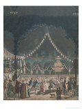 The Bastille Ball Giclee Print by Jacques Francois Joseph Swebach