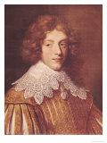 Portrait of Henri Coeffier de Ruze D'Effiat Marquis of Cinq-Mars Giclee Print by  Le Nain Brothers