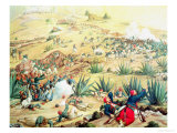 The Battle of Puebla, 5 May 1862 Giclee Print