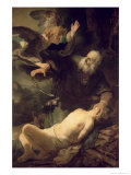 The Sacrifice of Abraham, 1635 Giclee Print by Rembrandt van Rijn