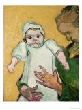 Madame Roulin and Her Baby, November 1888 Giclée-Druck von Vincent van Gogh