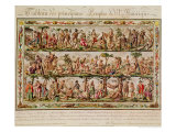 The Principal Peoples of the Americas, circa 1798-99 Giclee Print by Jacques Grasset de Saint-Sauveur