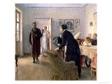 Unexpected, 1884-88 Giclee Print by Ilya Efimovich Repin