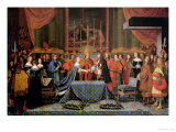 Celebration of the Marriage of Louis XIV and Maria Theresa of Austria, 9th June 1660 Giclee Print by Laumosnier