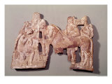 Relief Depicting the Meeting of Orestes and Electra at the Tomb of Agamemnon Giclee Print