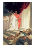 Parable of the Wise and Foolish Virgins, 1886 Giclee Print by Baron Ernest Friedrich Von Liphart