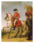 Napoleon Bonaparte First Consul, Reviewing His Troops after the Battle of Marengo, 1802-03 Giclee Print by Baron Antoine Jean Gros