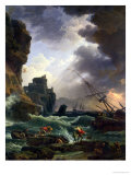 The Storm, 1777 Giclee Print by Claude Joseph Vernet