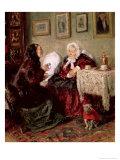 Tete-A-Tete, 1909 Giclee Print by Vladimir Egorovic Makovsky