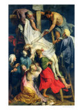 Descent from the Cross, 1617 Giclee Print by Peter Paul Rubens