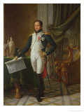 Portrait of Joseph Bonaparte King of Spain, 1808 Giclee Print by Jean-Baptiste Joseph Wicar