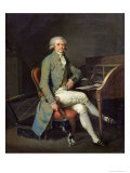 Maximilien de Robespierre Giclee Print by Louis Leopold Boilly