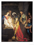 The Adoration of the Magi Giclee Print by Matthias Stomer