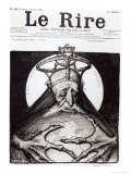 Caricature of the Family Rothschild from &quot;Le Rire&quot;, 16th April 1898 Giclee Print by Charles Leandre