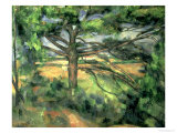 The Large Pine, 1895-97 Premium Giclee Print by Paul Cézanne