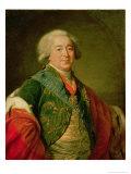 Portrait of Prince Alexander Borisovich Kurakin, 1797 Giclee Print by Elisabeth Louise Vigee-LeBrun