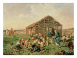 Rest During Haying, 1861 Giclee Print by Aleksandr Ivanovich Morozov