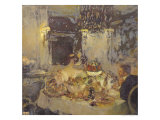 The Champagne Giclee Print by Gaston De La Touche