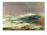 Ebb Tide, Long Reach, 1881 Giclee Print by William Lionel Wyllie