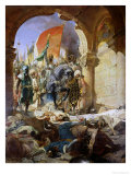 Entry of the Turks of Mohammed II into Constantinople, 29th May 1453, 1876 Giclee Print by Benjamin Constant
