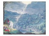 Jacob's Dream Giclee Print by Johann Wilhelm Baur