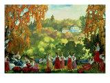 Summery Days in Early Autumn, 1916 Giclee Print by Sergei Yurevich Sudeikin