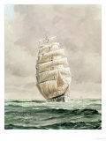 English Wool Clipper Giclee Print
