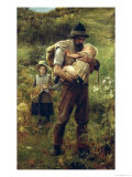 A Heavy Burden Giclee Print by Arthur Hacker