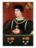 Portrait of Henry VI of England Reproduction proc&#233;d&#233; gicl&#233;e par Francois Clouet