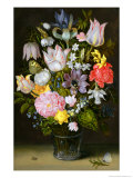 Still Life with Flowers Premium Giclee Print by Ambrosius The Elder Bosschaert