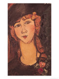 Lolotte, 1917 Giclee Print by Amedeo Modigliani