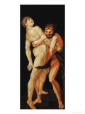 Hercules and Antaeus, 1530 Giclee Print by Hans Baldung Grien