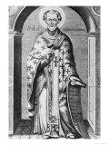 Saint John Chrysostome, 17th Century Giclee Print by Pierre-Jean Mariette