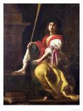 Clio, Muse of History, 1624 Premium Giclee Print by Giovanni Baglione